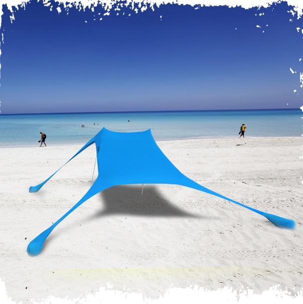 רשת הצללה | אוהל חוף