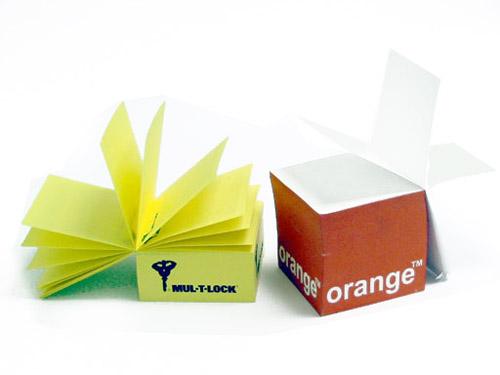 קוביות נייר  | בלוק נייר ממותג