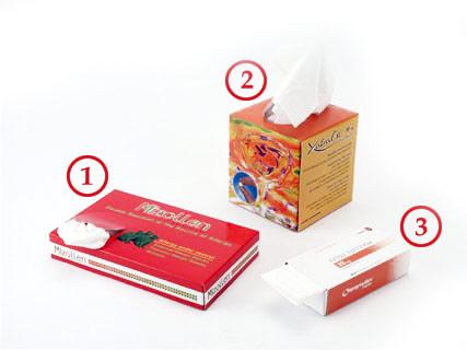 טישו ממותג | מגבוני נייר טישו