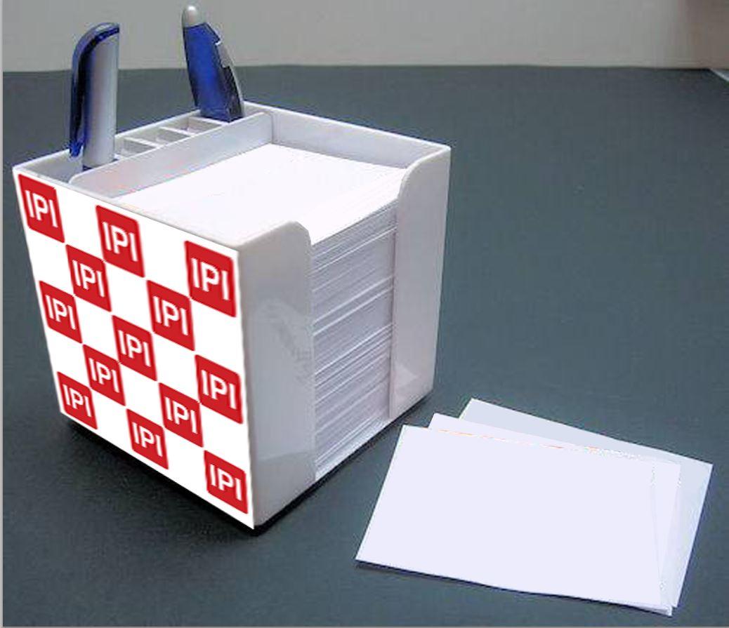 מעמד לשולחן   קופסה פלסטיק לנייר ממו   קוביית נייר