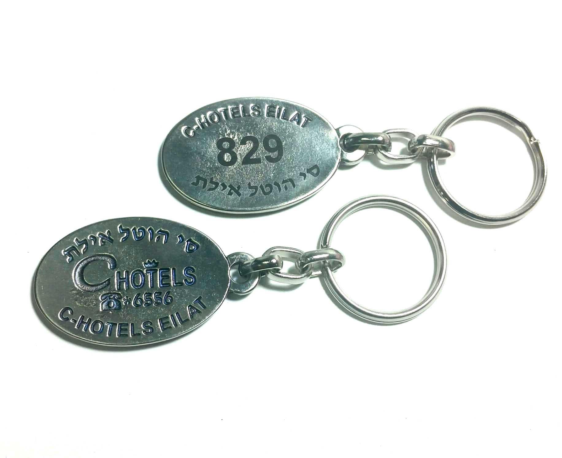 מחזיקי מפתחות ממתכת