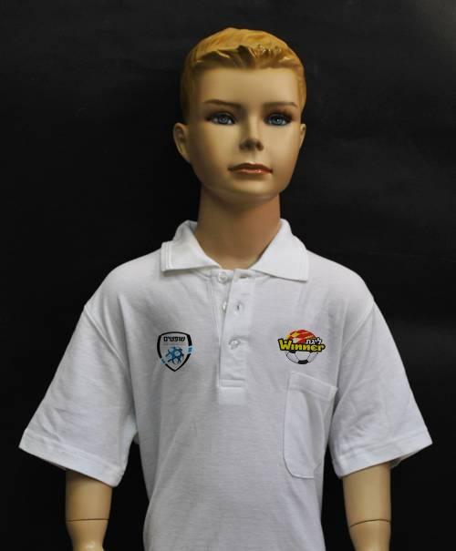חולצות פולו לילדים | הדפסה דיגיטלית על חולצות