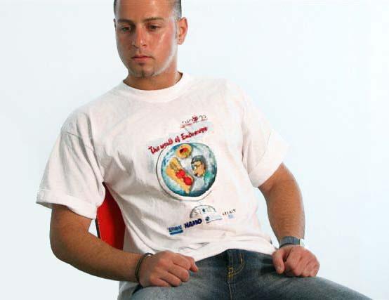 חולצות מודפסות לחתונה | חולצת טי ממותגת