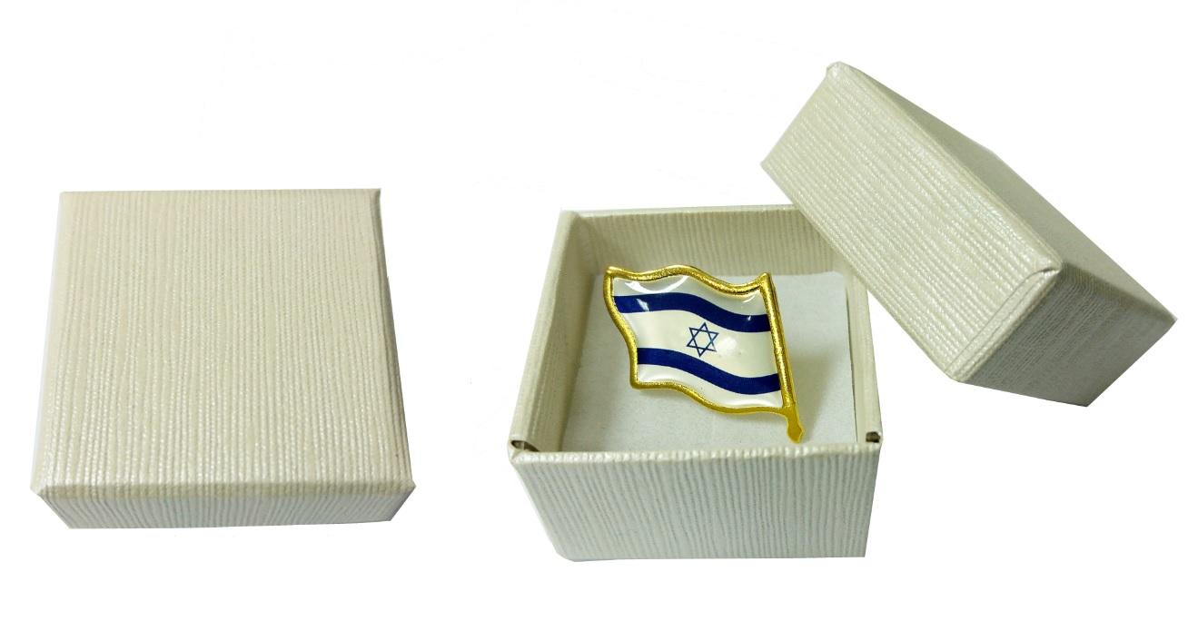 סיכת דגל ישראל 70 מהבהבת ליום העצמאות