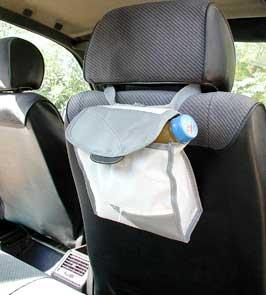 אביזרי פרסום לרכב | תיק אחסון לרכב