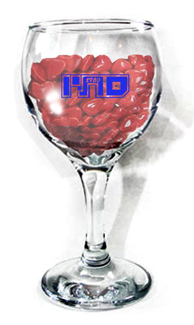 כוסות יין | כוס גביע ליין עם לוגו