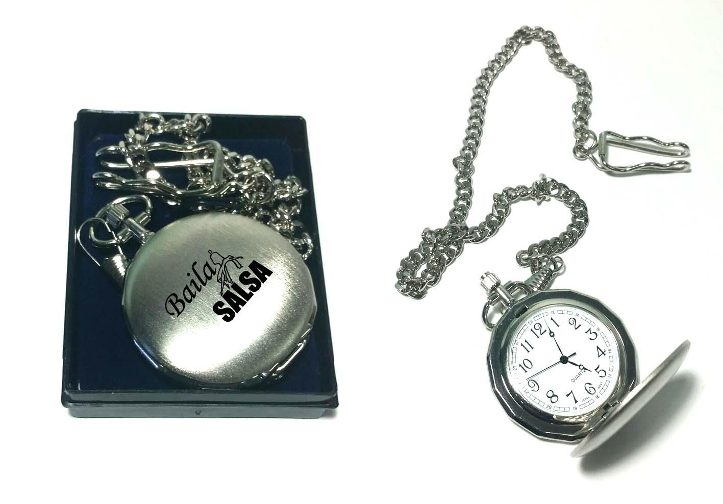 חריטה על שעון  | שעון כיס סבא עתיק