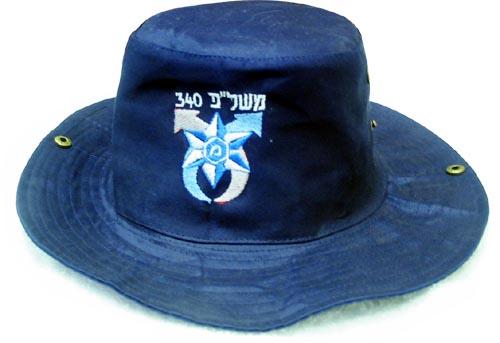 כובע בוקרים רקום עם לוגו