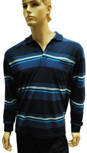 הדפסות על חולצות | חולצת פולו פסים