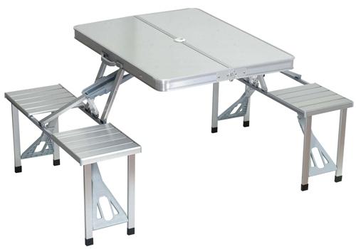 שולחן אוכל נפתח | שולחן מתקפל | שולחן אלומיניום