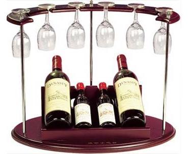 מתנה למנהל | סט בר יין תלוי | מעמד ליין