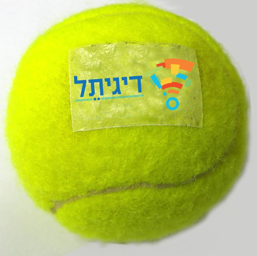 כדור טניס ממותג