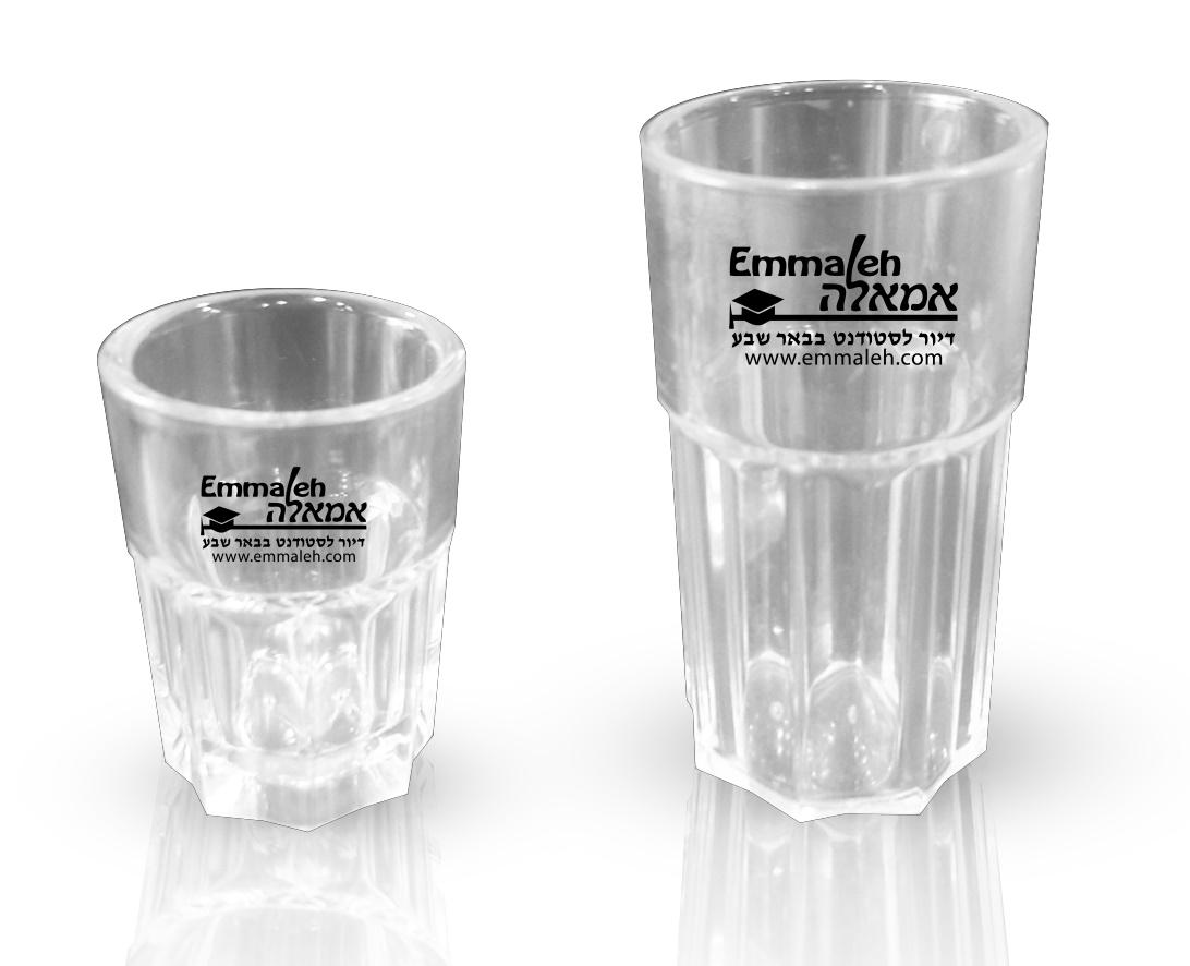 כוס צ'ייסר פוליקבונט | כוסות פוליקרבונט
