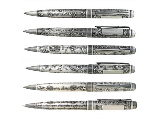 עט תבליט,עשוי ביציקת מתכת