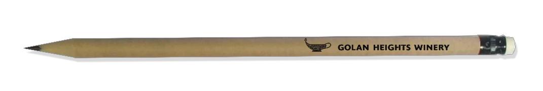עפרון עץ   עפרונות עם לוגו