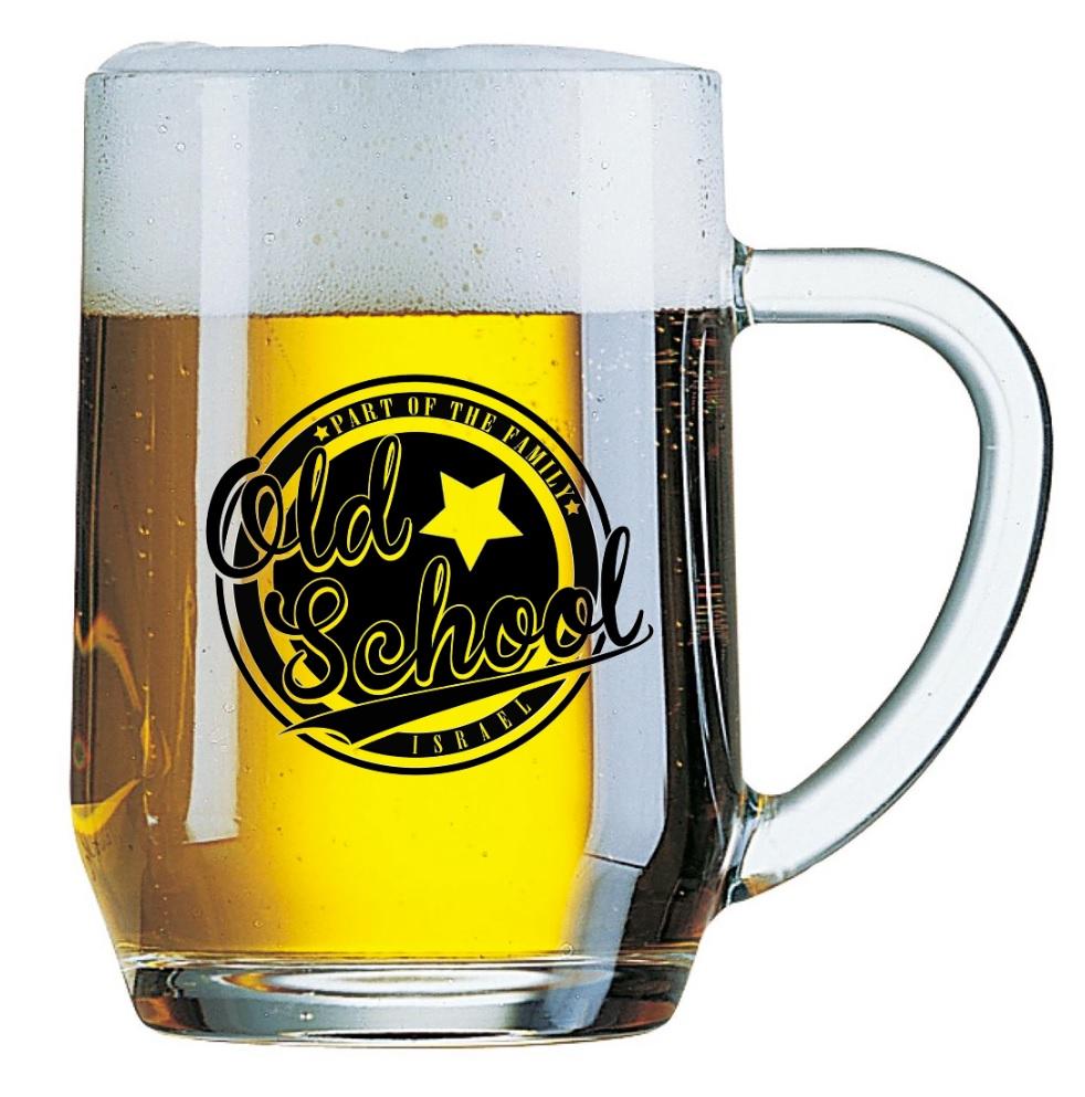 הדפסה על כוסות בירה