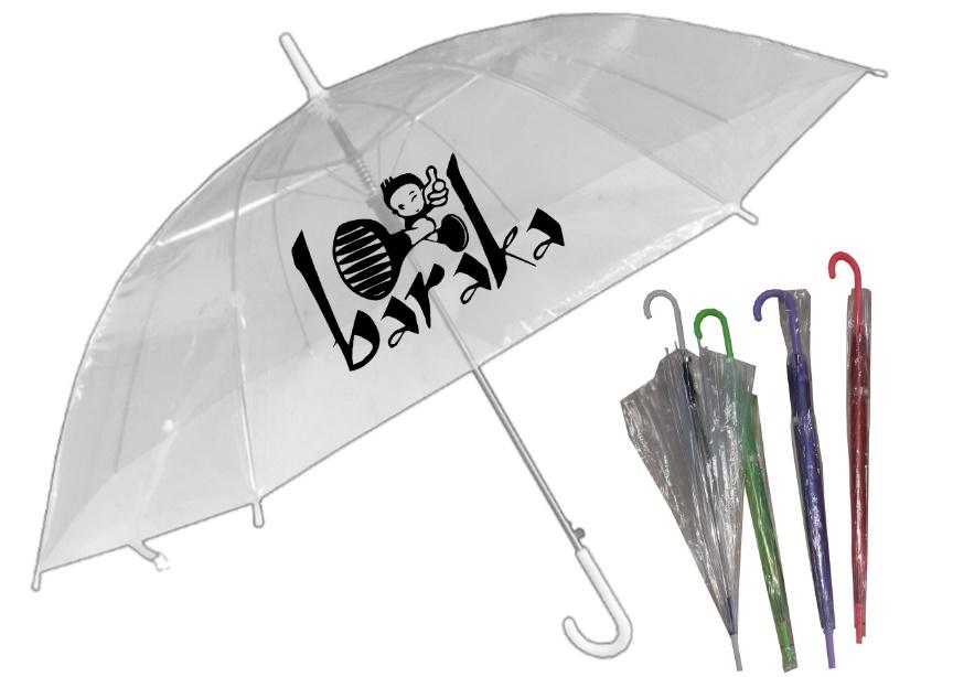 מטרייה שקופה  לילדים | מטריות שקופות
