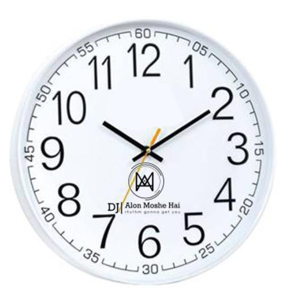 שעון קיר מיוחד | הדפסה על שעון
