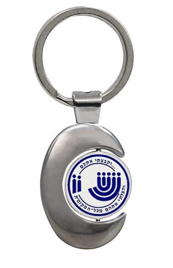 מחזיקי מפתחות עם לוגו קינטי