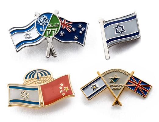 סמל דש דגלי מדינות