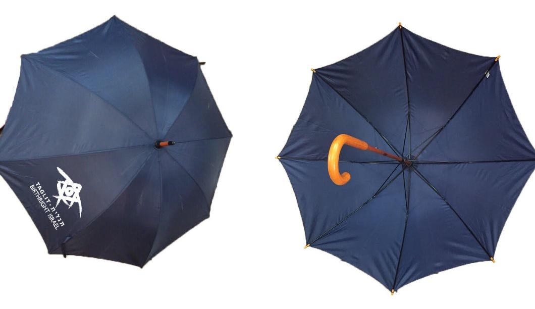 מטריות ידית עץ