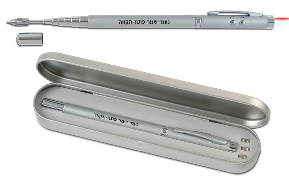 סמן לייזר | עט  אנטנה + פנס לד ולייזר