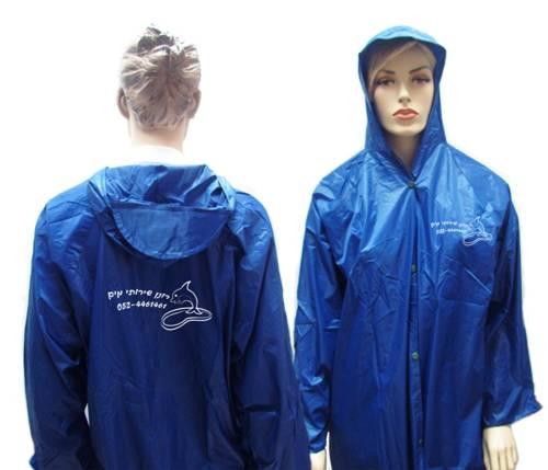 מעיל גשם עם הדפס
