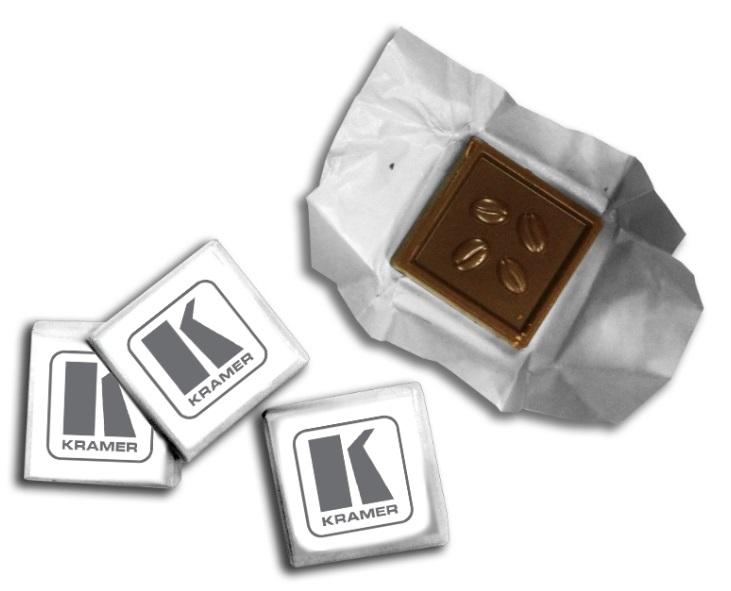 שוקולד עם לוגו   הדפסה על שוקולד