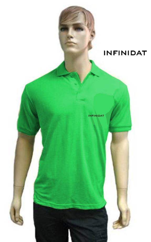 חולצת פולו ירוקה