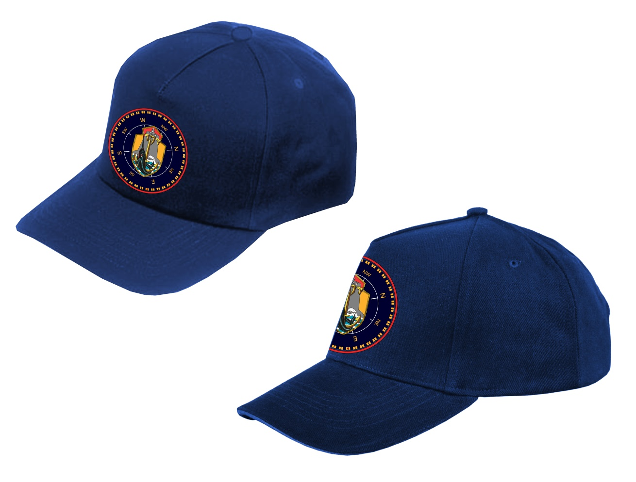 כובע עם הדפס