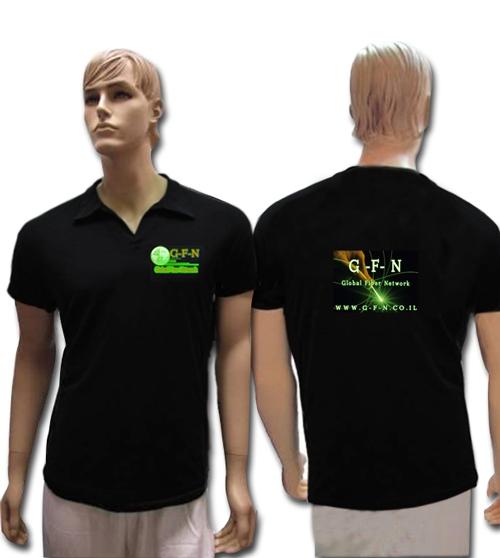 חולצת ליקרה | חולצת לייקרה לגבר | חולצת פולו מבד ליקרה