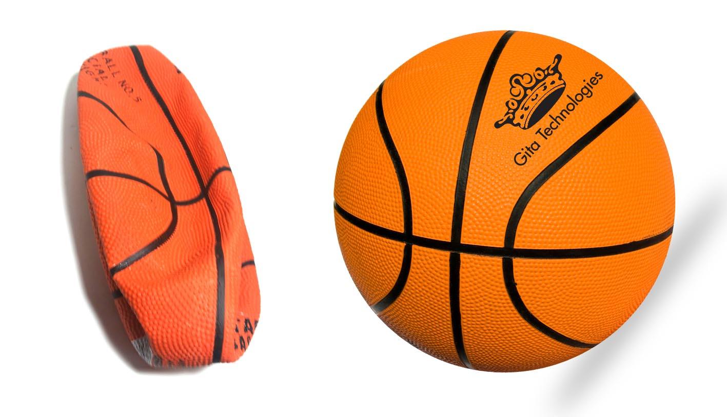 כדור כדורסל   כדור סל ממותג