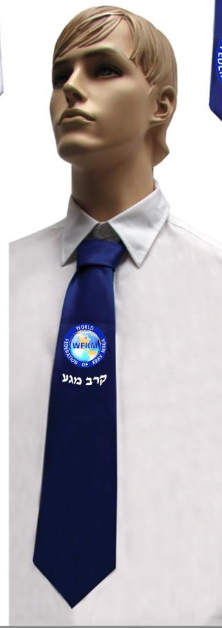 עניבה ייצוגית | עניבה עם מיתוג