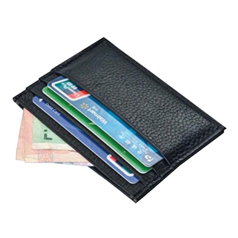 ארנק נרתיק עור לכרטיסי אשראי