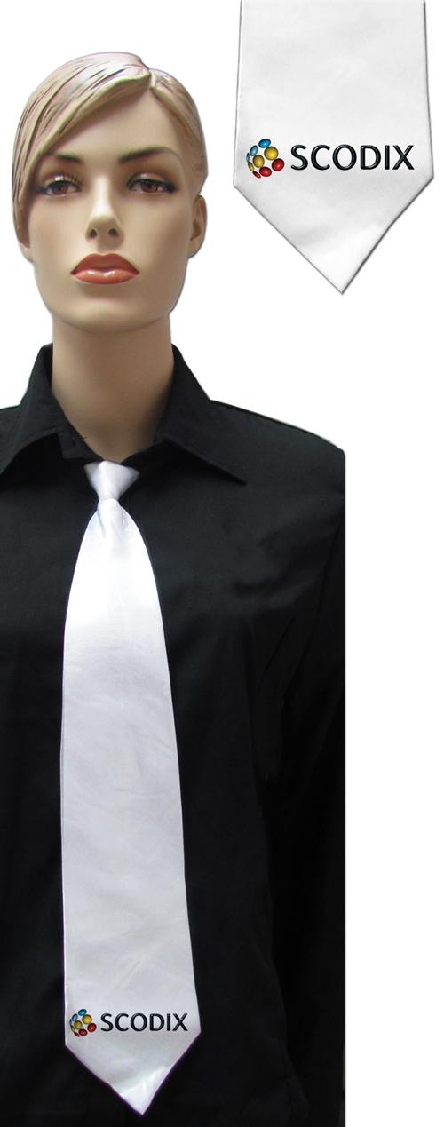 הדפס על עניבה | עניבות לבנות