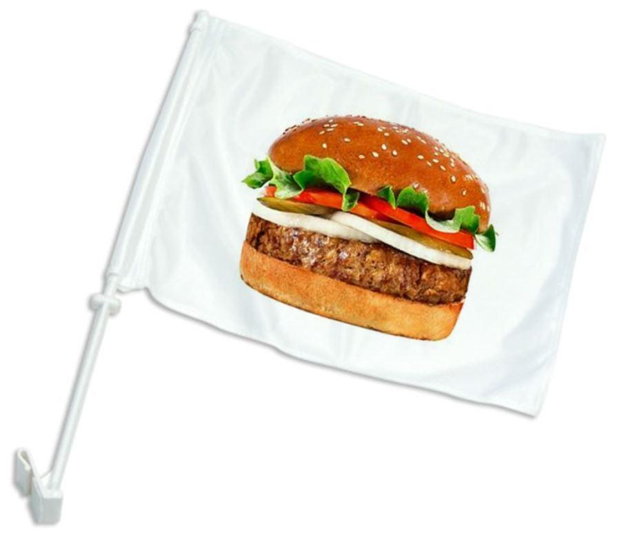 דגל לרכב | דגל ממותג לרכב