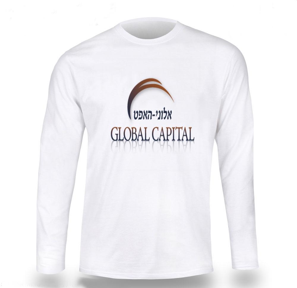 הדפסות חולצות עם לוגו   חולצה ארוכה