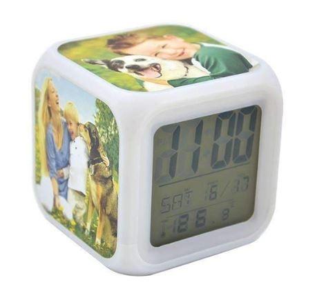 הדפסה על שעון דיגיטלי