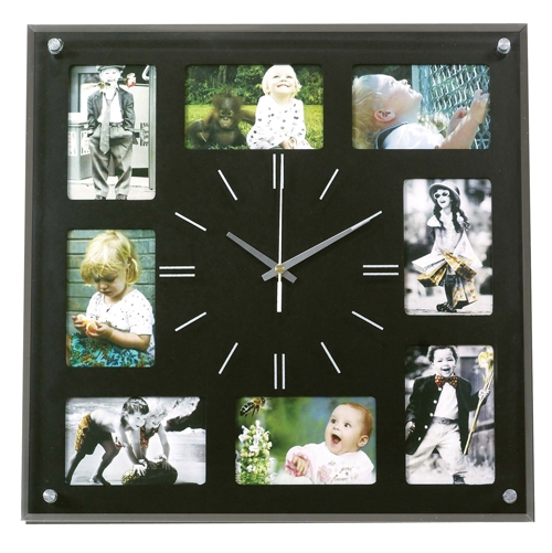 שעון עם תמונות | שעון קיר עם תמונות