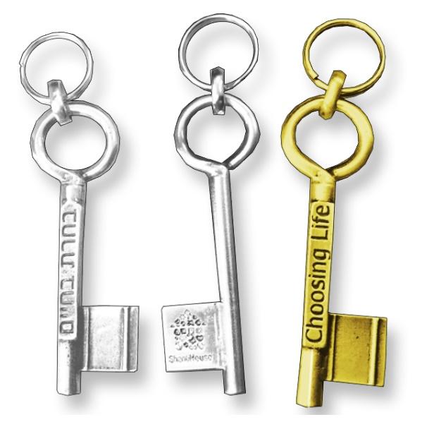 מחזיק מעוצב בצורת מפתח