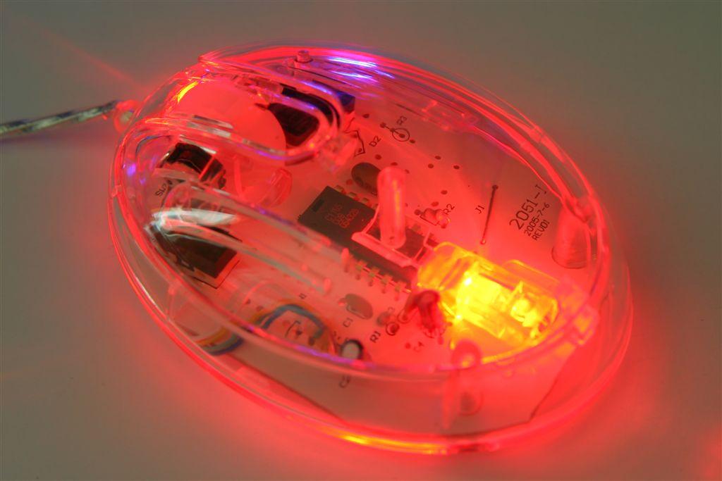 עכבר ממותג | עכבר עם תאורה
