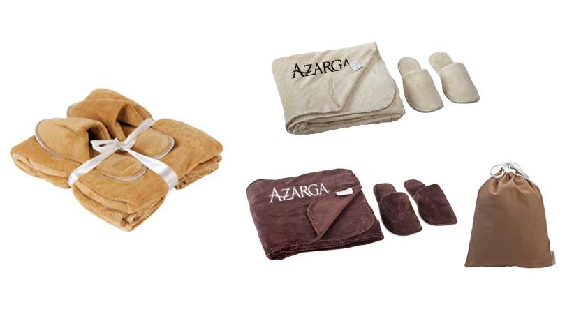 סט שמיכת פליז ונעלי בית | נעלי בית פליז | מתנות לחורף