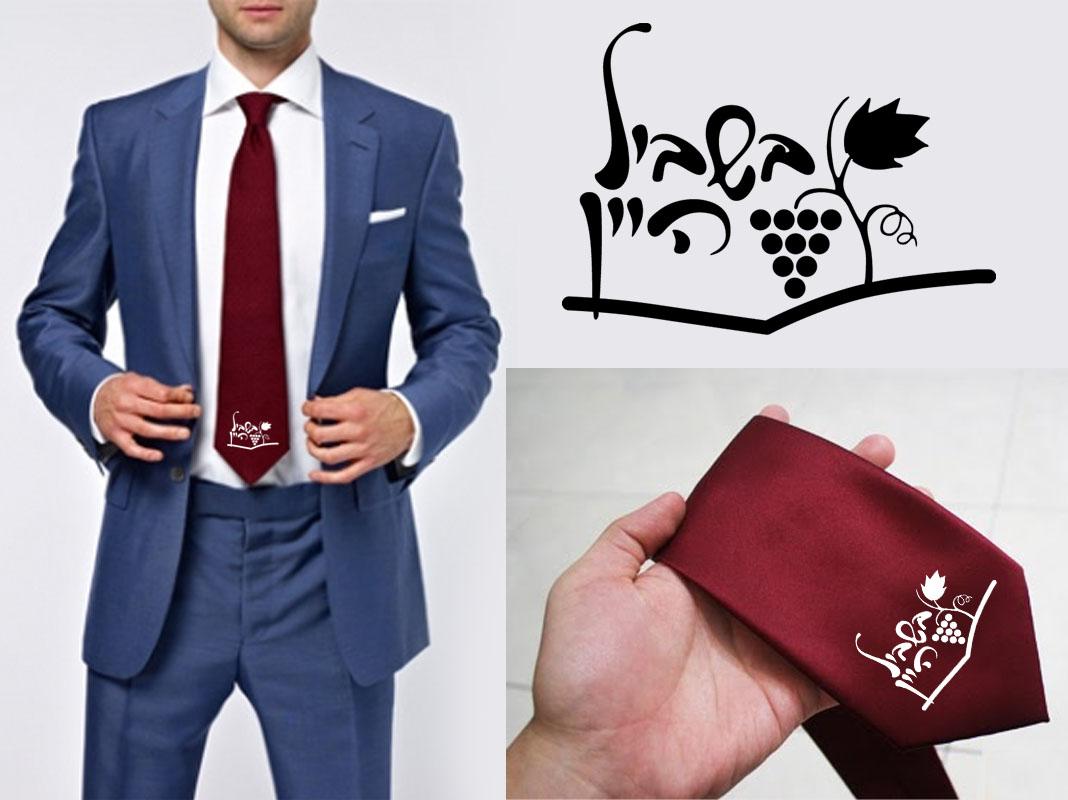 עניבה בורדו   עניבות אדומות
