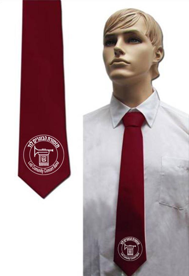 עניבה בורדו | עניבות בורדו