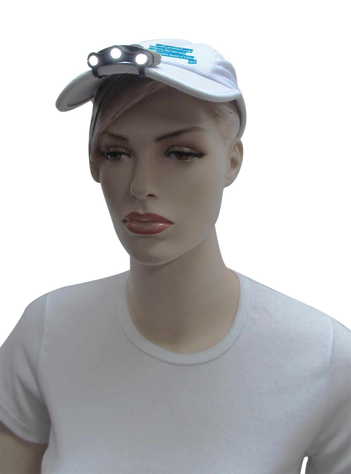פנס לכובע | פנס שמלבש על כובע