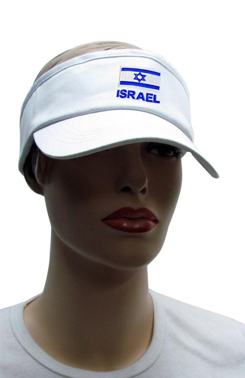 מצחייה | מצחיה עם דגל ישראל