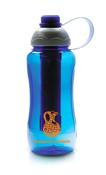 בקבוק עם קרחון | בקבוק עם הקדשה