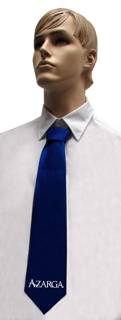 עניבה כחולה | עניבות עם מיתוג