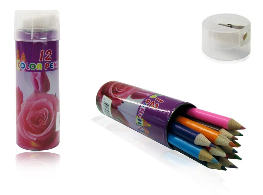 מארז צבעי עיפרון | צבעי עיפרון ומחדד