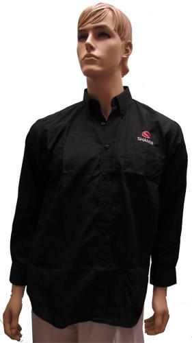 חולצות אלגנט שחורות שרוול ארוך